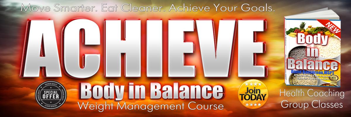 Achieve Body in Balance !
